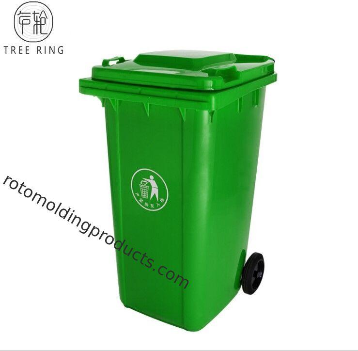 red green plastic rubbish bins 240 liter waste wheelie bin for recycling paper. Black Bedroom Furniture Sets. Home Design Ideas