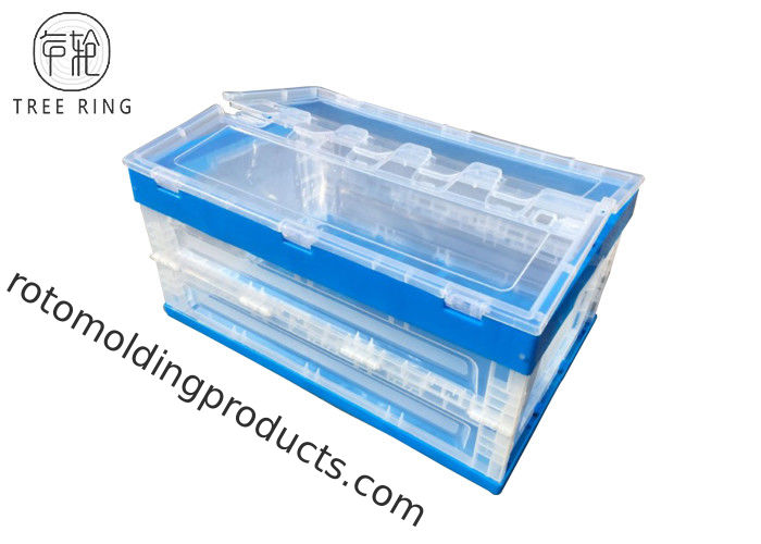 Strong Folding Plastic Stackable Vegetable Bins 600 240 Heavy Duty