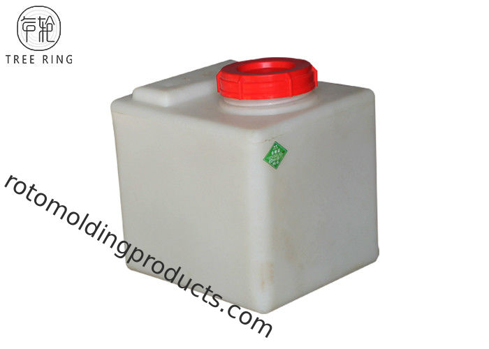 40 Litre Square Plastic Water Tank For Window Cleaning / Car