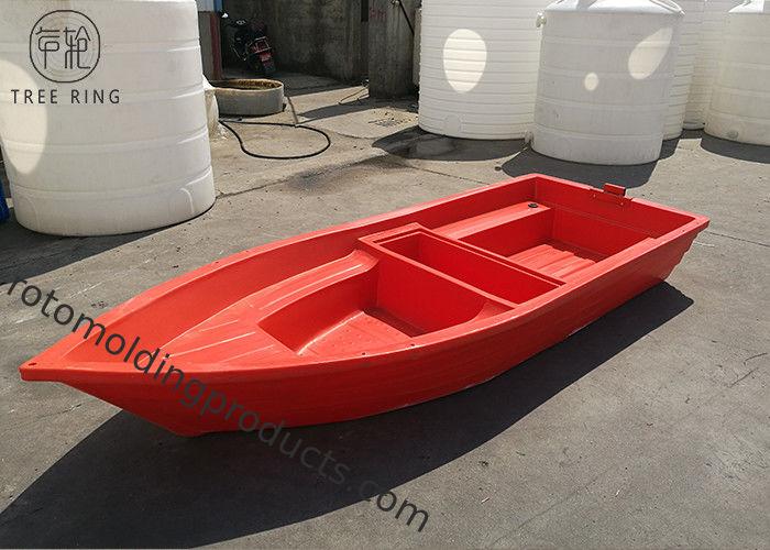 Polyethylene 6 Persons Hard Plastic Fishing Boats 800kg