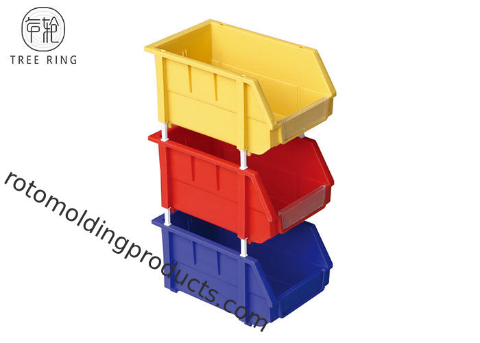 Stackable Colored Tooling Plastic Tool Storage Bins 500 * W 380 * H 250 Mm Recycled  sc 1 st  Rotomolding Products u0026 Roto Mold Tanks & Stackable Colored Tooling Plastic Tool Storage Bins 500 * W 380 * H ...