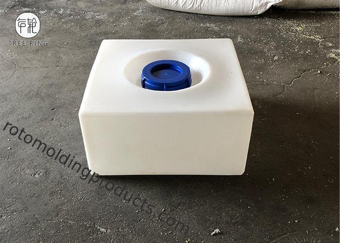 Rotationally Square Ranslucent Baffled Plastic Water Tanks