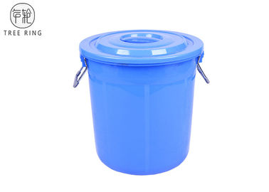 China Stackable Round  Small Garbage Pail With Lid  B50L Heavy Duty Food Grade factory
