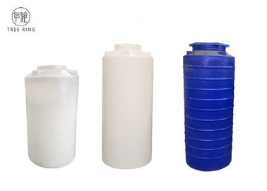 China 700L 1000 Lt Polyethylene Vertical Storage Tank For Reverse Osmosis Systems factory