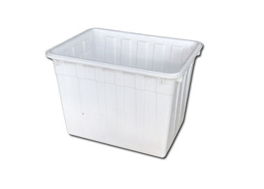 160L 200L To 400L Nestable Large Plastic Storage Boxes For Clothing Textile Store Face Masks